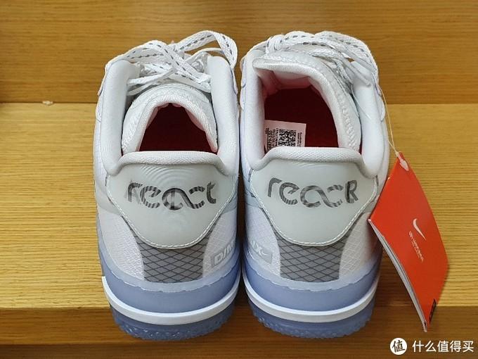 夏天必备小白鞋 Air Force 1 React QS简单开箱