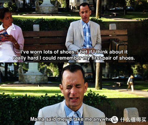 阿甘绝对可以当跑鞋代言人