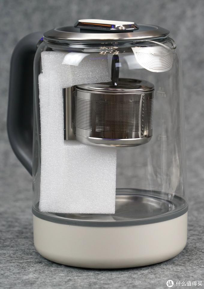 得闲饮茶,优雅从容:以懒人为本的cute设计 - 摩飞自动升降式煮茶器评测