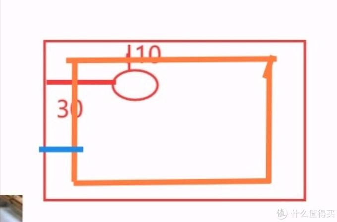 一般,电线孔5cm