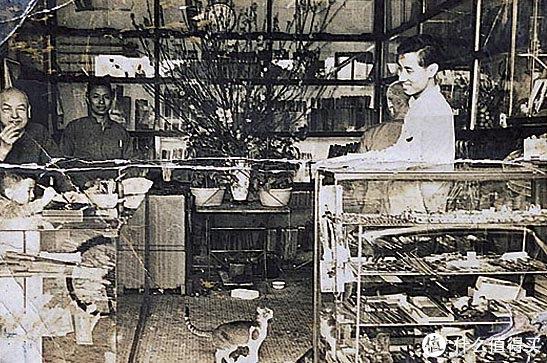 ▲摄于60年代陈枝记老店