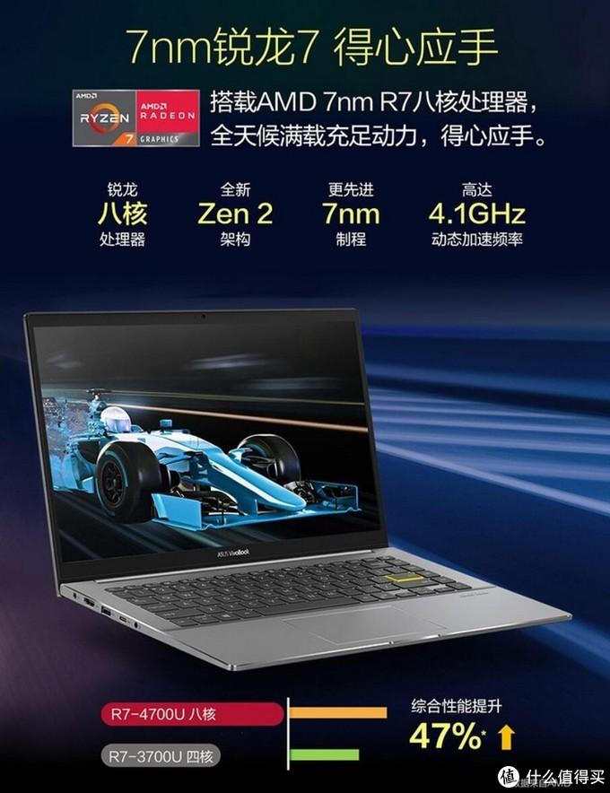 搭AMD R7 4700U实现11小时续航:华硕灵锐14轻薄本上架预售
