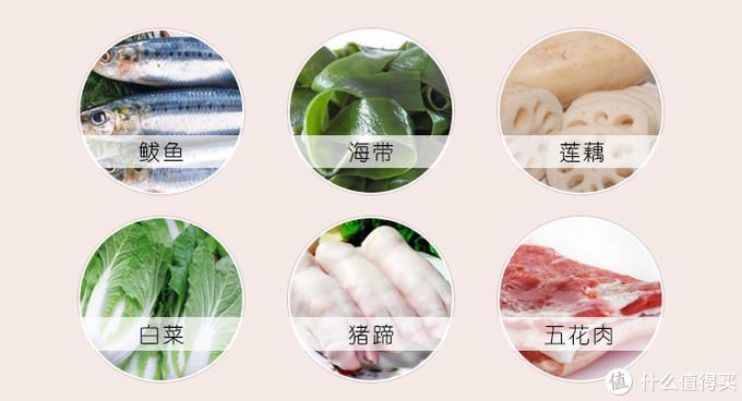 酥锅的制作材料