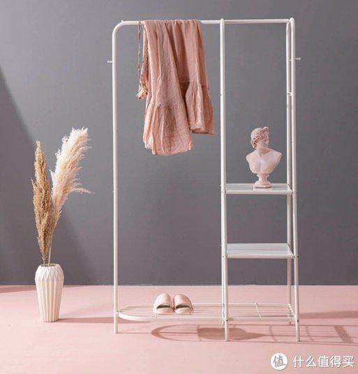 「小米有品」多重收纳落地衣架,小户型、出租房好用单品~