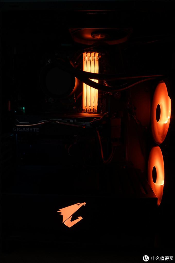 技嘉AORUS雕牌半全家桶装机!3600X+B450小雕+2060S+C300机箱