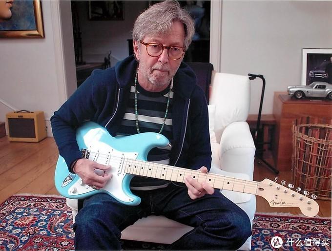 Clapton在家练琴