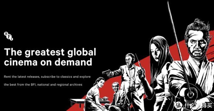 英国电影协会举办日本电影百年大展,五月黑泽明,六月小津回顾放映,共持续近半年,酷炫预告片放出
