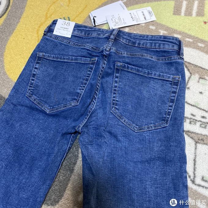 百搭实惠的基础款!MANGO牛仔裤