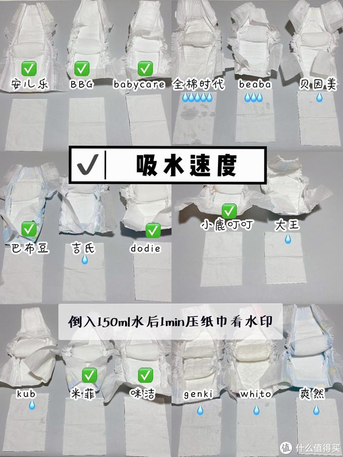 17款纸尿裤多维度测评,618囤货不踩雷