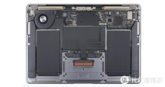 Macbook内的电池模组