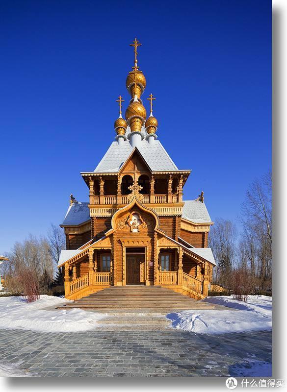 复建的圣尼古拉教堂