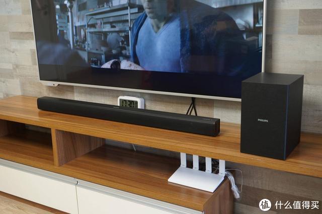 同电视机打配合,完美改善音效的飞利浦家庭音响,带你置身电影院