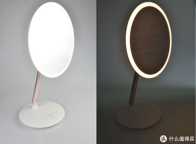 给女神的第一款LED美妆镜,只需要一支口红钱,这款斐色耐JIUJIU镜太超值