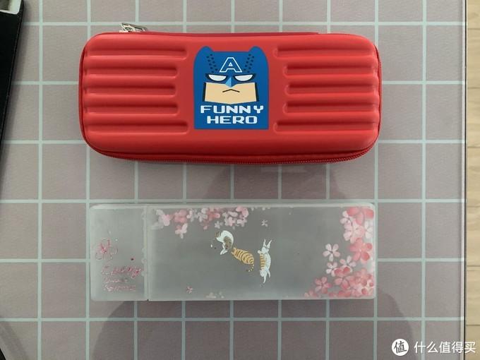 图书馆猿のMelonboy 西瓜太郎 大容量儿童文具盒 简单晒