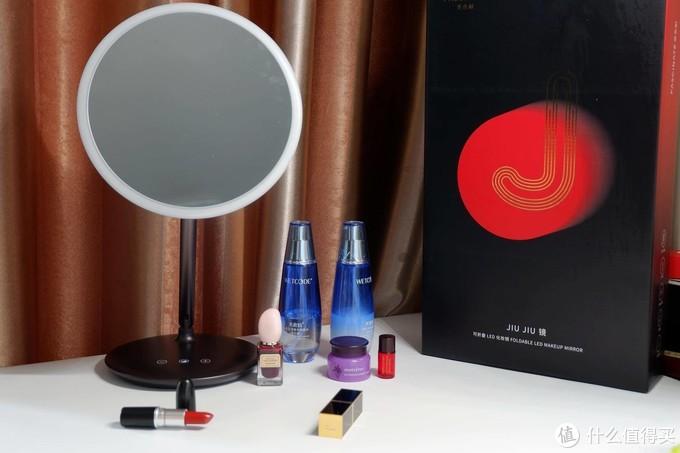 没想到这款高颜值LED化妆镜,测评效果竟然这么好