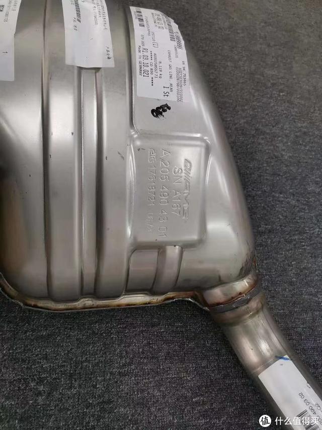 奔驰C43 AMG改原厂运动阀门排气