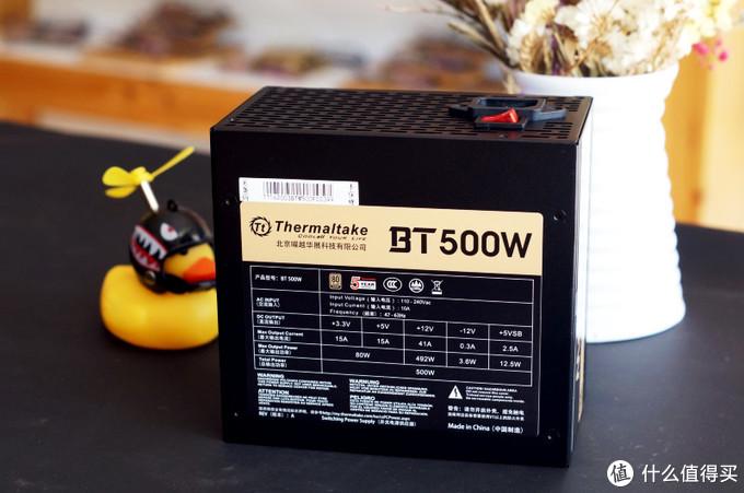 预算再低,电源也要全日系电容——TT模组电源BT500w兼启航者A1机箱体验