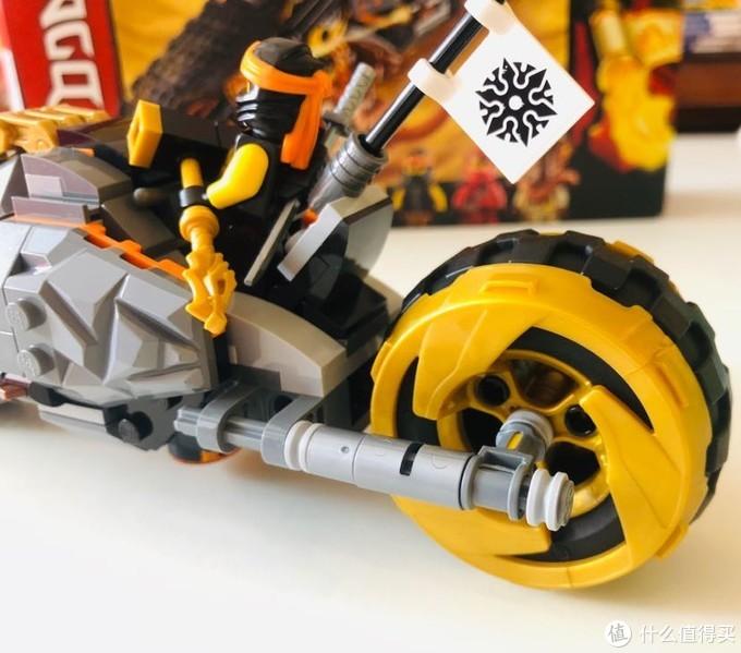 GoLe 幻影忍者 70672 寇的战车
