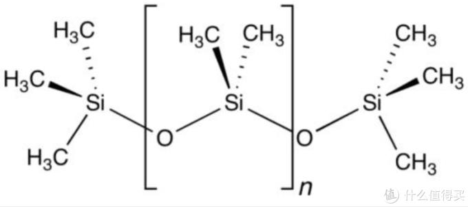 聚二甲基硅氧烷结构简式(图片引自网络)