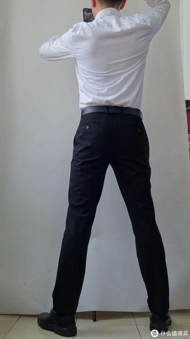 图2. 必要商城——DP免烫纯棉140支精细斜纹商务衬衫