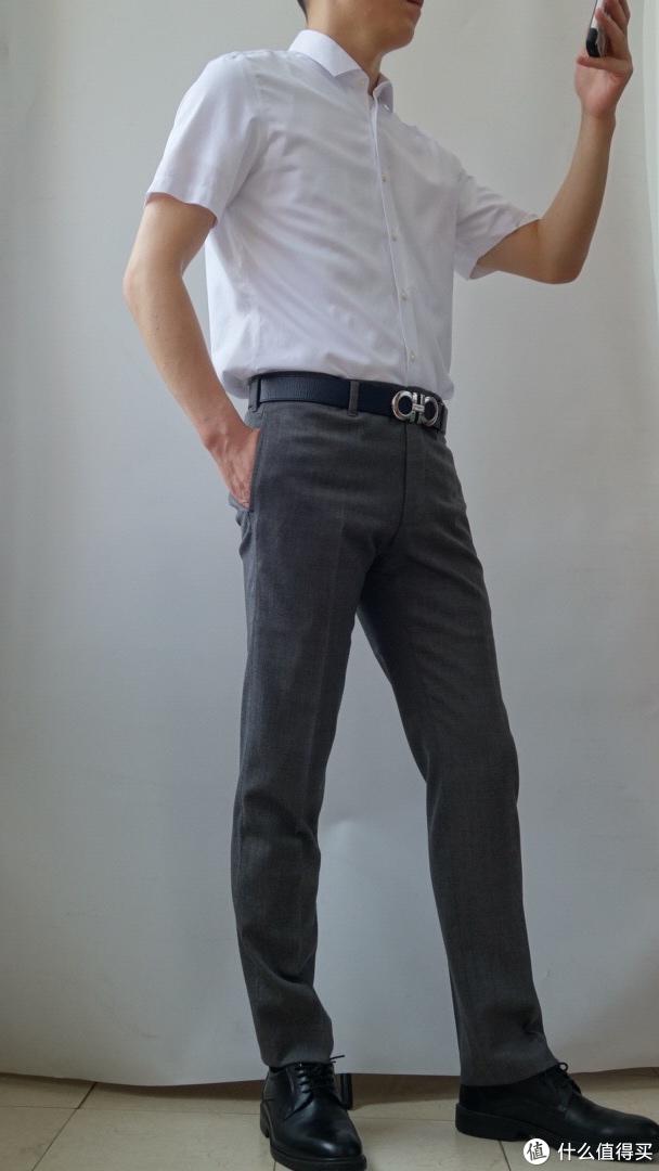 图3. 必要商城-DP免烫100支素色尚未短袖衬衫
