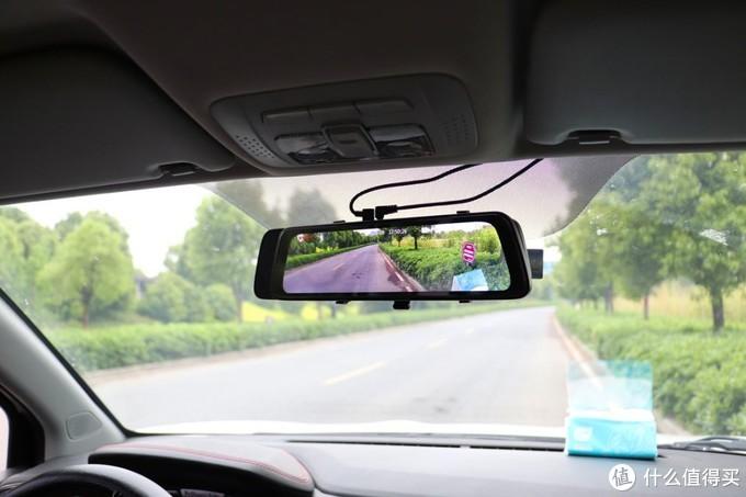 前后双录的震撼巨屏,盯盯拍mola E3上车体验
