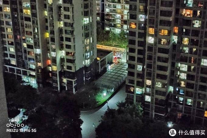 魅族17 Pro手持夜景模式样张