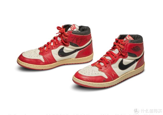 史上最昂贵球鞋TOP3,单双拍卖成交价都超过40万美金