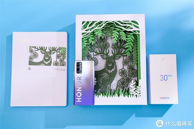 荣耀30系列丨WWF世界自然基金会联名礼盒,剪纸元素艺术感爆棚