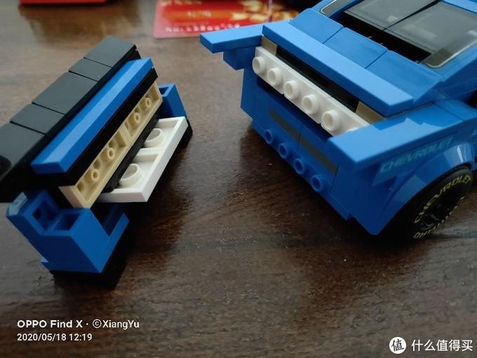 乐高speed75891雪佛兰ZL1 6格改8格