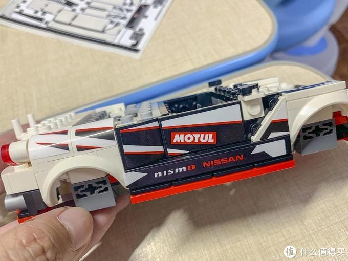 LEGO 乐高76896 Nissan GT-R NISMO赛车