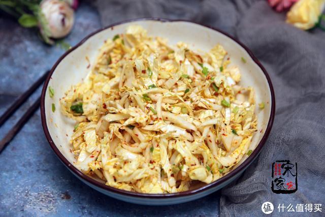 白菜最接地气的吃法,低脂清爽没油烟,拌一拌就好,开胃