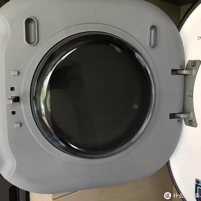 大宇原装进口小型壁挂滚筒洗衣机入手分享