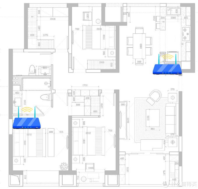 华为路由AX3 Pro体验:无视超大house,家庭mesh组网最佳选择