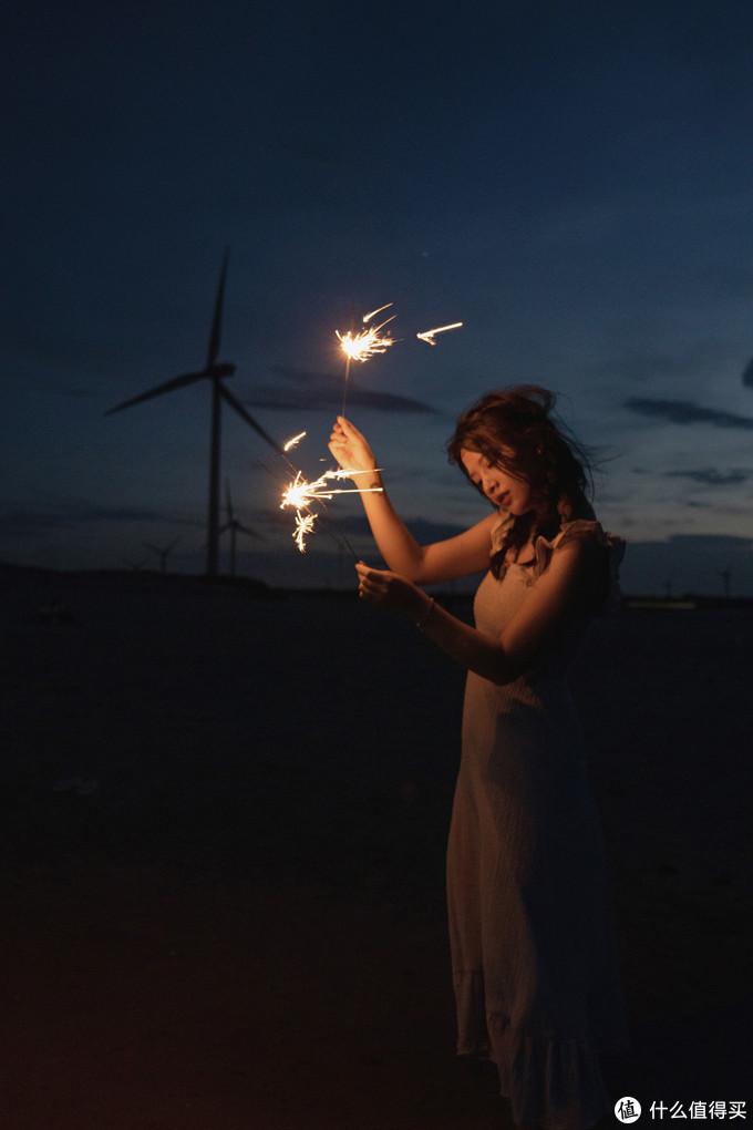 夏夜里的一股清凉,别样暗调人像拍摄经验分享
