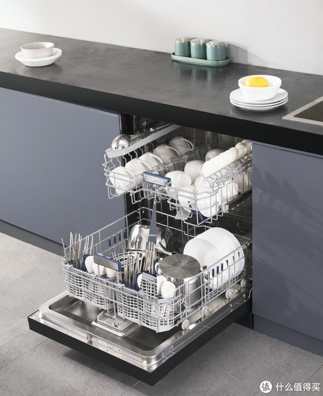 全家的餐具卫士,省心又健康的美的GX600洗碗机体验分享