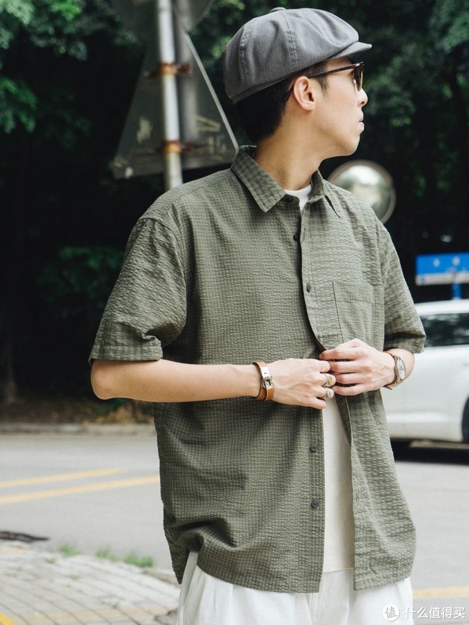 Uniqlo JW 泡泡纱衬衫