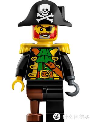 乐高31109三合一海盗船评测,人仔撞款梭鱼湾,船帆成最大亮点