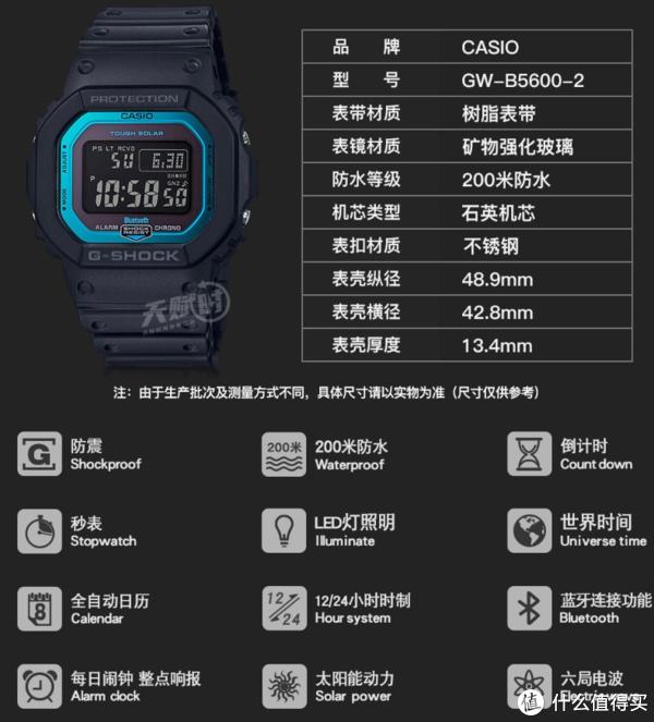 蓝牙、电波、全日历除了手表壳不太适合正装外,这价格的经典的GS真找不到任何缺点