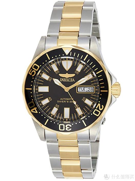 间金配色,大面积反光时标,蛇形针,双历,还是欧美的手表厂家