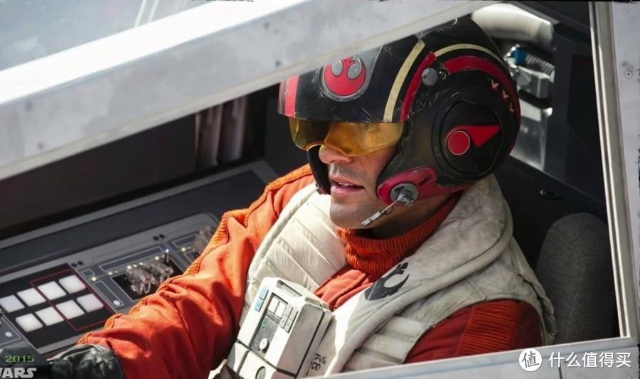 王牌飞行员,申请出战——孩之宝 星球大战 波达默龙 飞行员头盔
