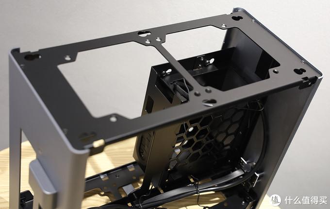 乔思伯 A4机箱 内部结构设计 电源仓细节①