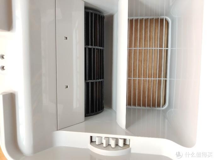 智米纯净型空气加湿器拆解,清洁内部风扇