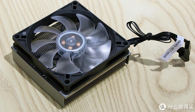 酷冷至尊 G200P散热器 加装风扇效果