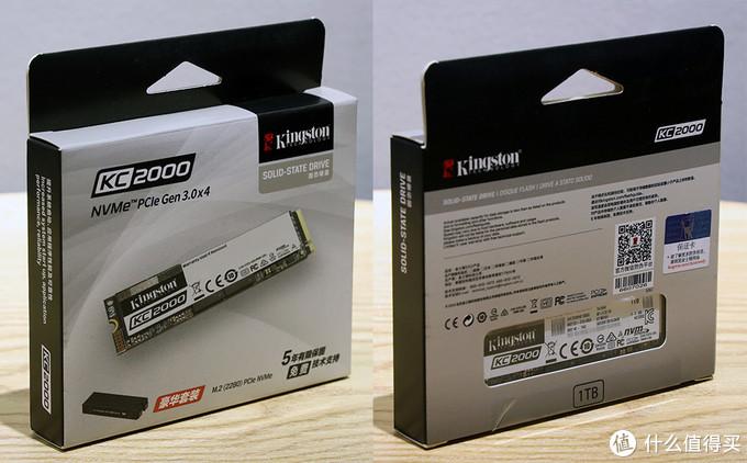 金士顿 KC2000 M.2 固态硬盘 外包装