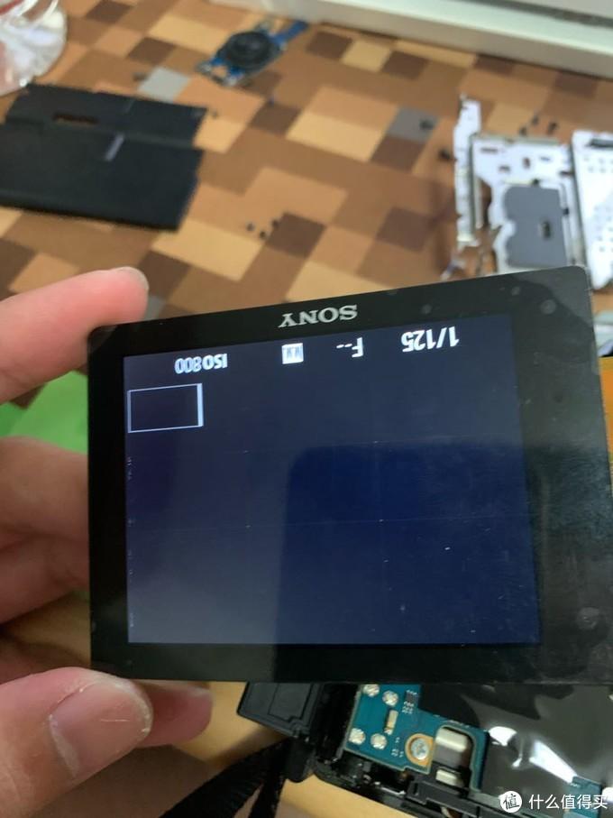 55元 索尼a7 换屏 教程