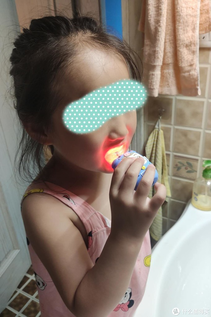 SALOVE(深爱)儿童U型电动牙刷开箱简评,公主的美好一天从刷牙做起