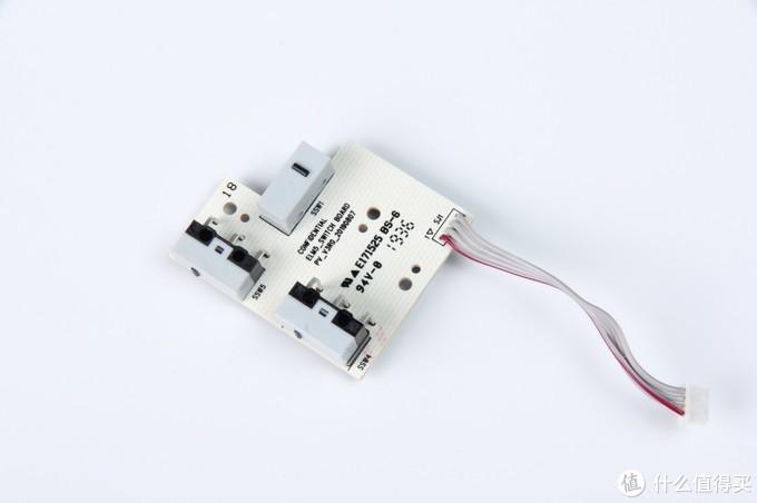 赛睿Rival 3游戏鼠标侧键电路板