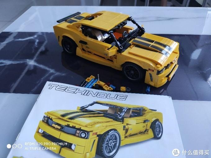 森宝701504大黄蜂跑车测评