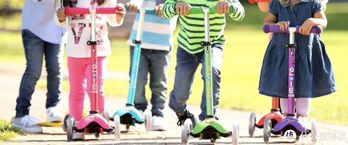 遛娃神器 有了它带娃不累,高性价比儿童滑板车清单